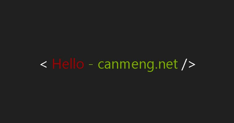 Hello canmeng.net
